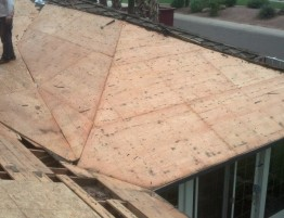 Shake Roof to New Decking and Shingles